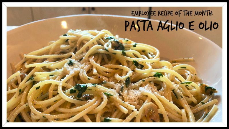 Facet Feature Recipe: Jay's Pasta Aglio e Olio